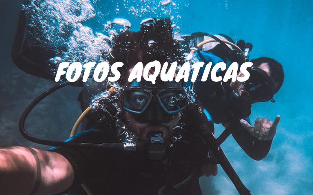 FOTOS AQUÁTICAS - DICAS